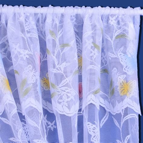 butterfly tie backs for curtains meadow butterfly net set including pelmet and tiebacks white