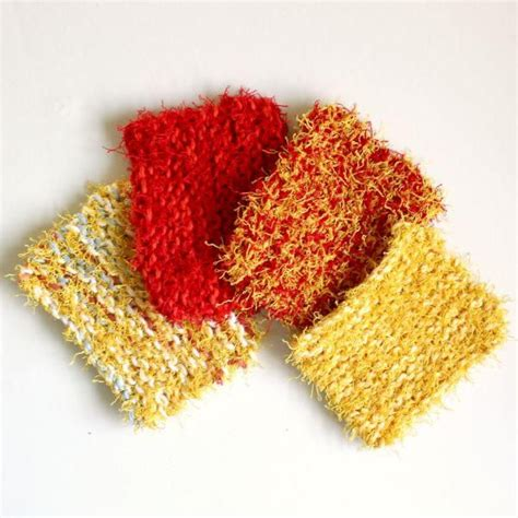 knitted scrubbies netting 151 best images about knit dishcloth patterns on