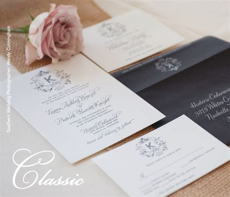 Wedding Invitations Nashville by Set The Stage With Your Invitations The Pink