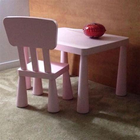 Mammut Children's Chair In/Outdoor (Light Pink