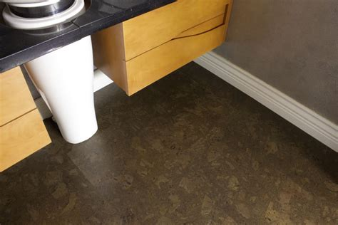walnut bathroom flooring walnut burlwood 8mm glue down cork tiles sle