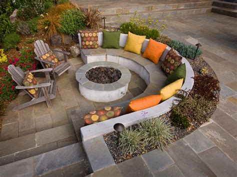 sunken backyard pit best 25 sunken pits ideas on