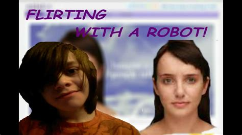 Robot Evie by Flirting With A Robot Cleverbot Evie