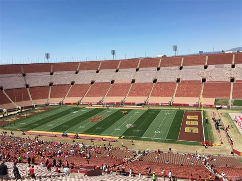 section 4 a los angeles memorial coliseum section 4 rateyourseats com