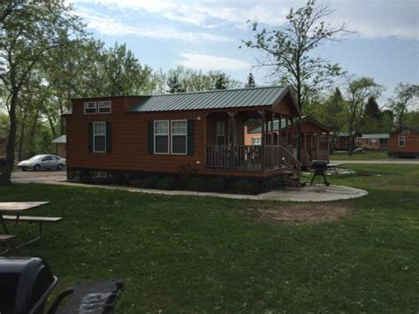 Darien Lake Cabin Rentals by View From The Front Porch Picture Of Darien Lake