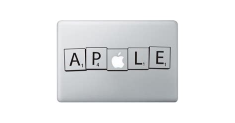 scrabble for macbook pro scrabble macbook decal kongdecals macbook decals