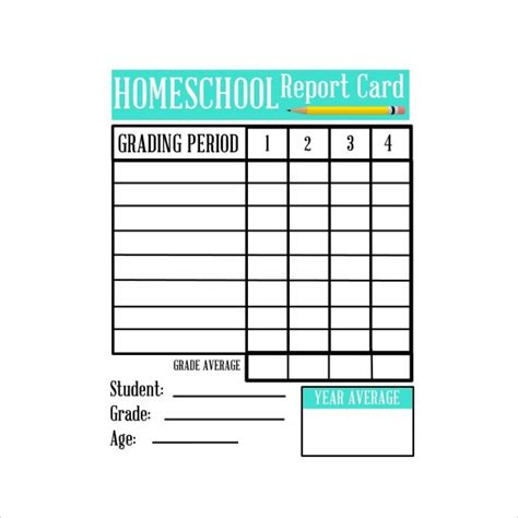 homschool report card template free homeschool report card template 2016 sanjonmotel
