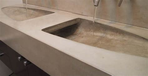 diy concrete bathroom sink bathroom countertops concrete designs for bathroom