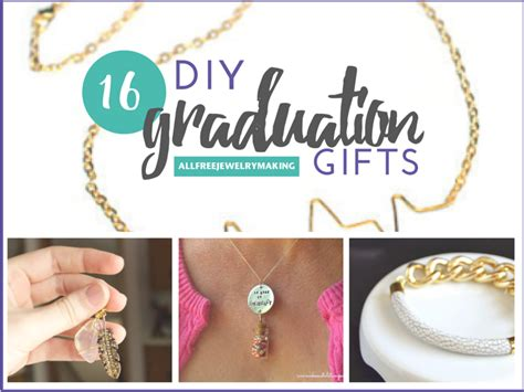 Handmade Graduation Gifts - 16 diy graduation gifts handmade jewelry projects to say