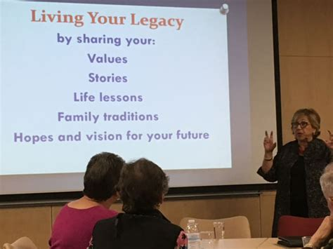 Previous Presentations and Appearances   Embrace Your Legacy