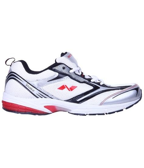 nivia sports shoes nivia white snake running shoes for price in india
