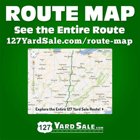 Route 127 Garage Sale by View The Complete 127 Yard Sale Route Using Our