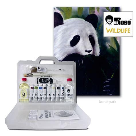 bob ross painting panda panda paint set craftyarts co uk