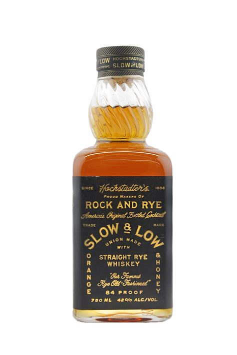 hochstadter s slow low straight rye whiskey