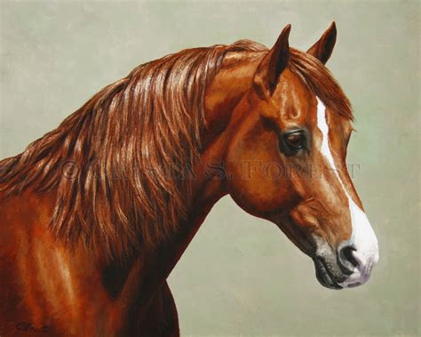 painting horses crista forest equine paintings and prints