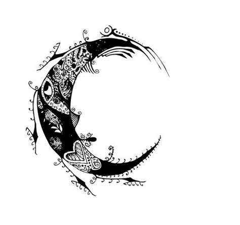 moon tattoo designs hannikate moon tattoos for