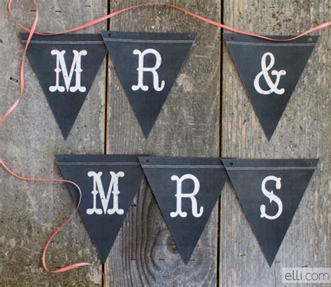 printable chalkboard banner chalkboard banner printable with this ring wedding blog