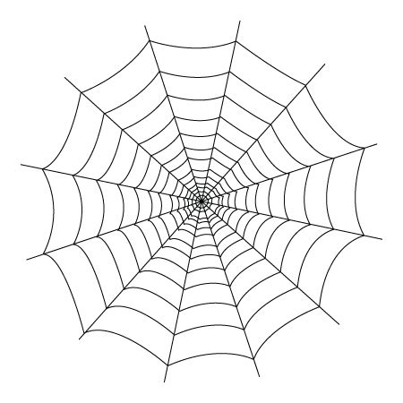 Spider Web Coloring Sheet 171 Coloring Drawing Spider Web Coloring Pages