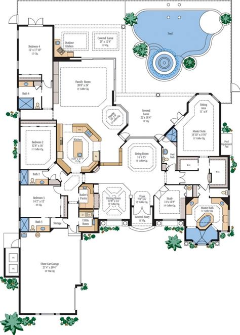 luxury floor plans luxury floor plans with elevators home decor luxamcc