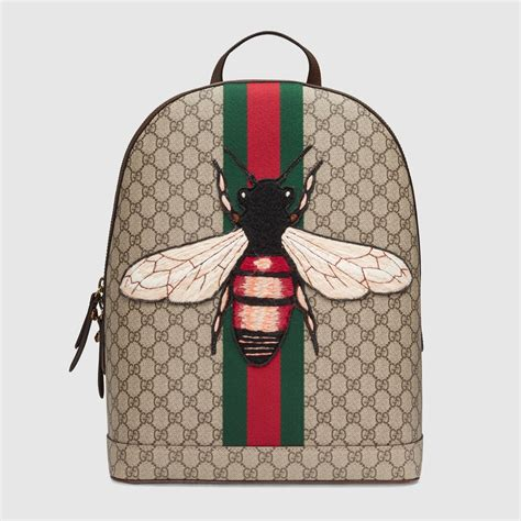Backpack Fashion Bee web animalier backpack with bee gucci s backpacks