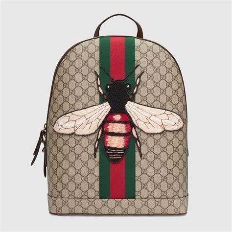 Garucci Bagpack Putih Kombinasi 2 web animalier backpack with bee gucci s backpacks 442892k2lzt8968