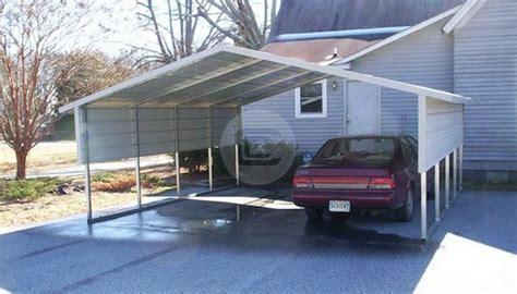 Carport Options 18x21x6 a frame metal carport boxed eave carport with options