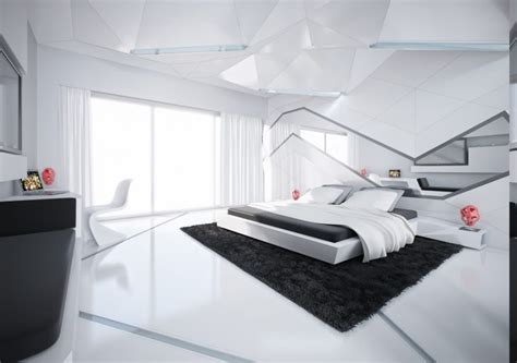 futuristic beds tremendous black and white bedroom designs camer design