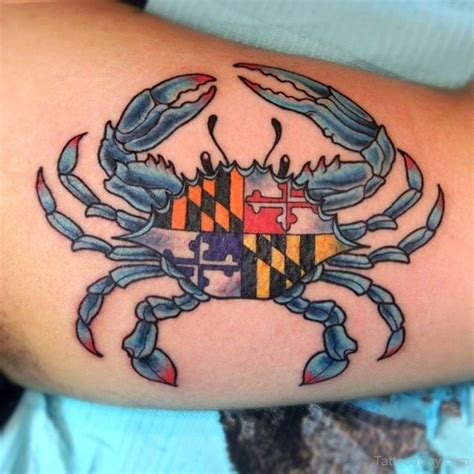 maryland flag tattoo designs crab tattoos designs pictures page 2