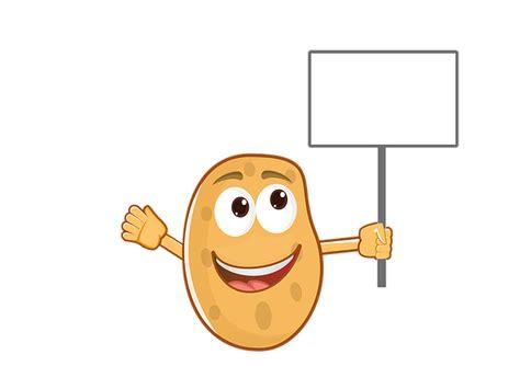potato mascot cartoon  image  pixabay