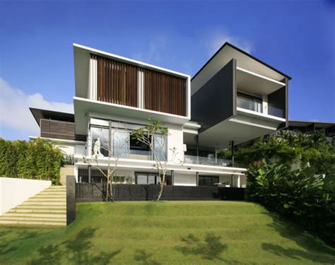 modern hill house designs modern house of bukit tunggal digsdigs
