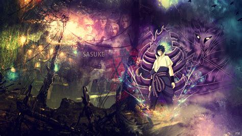 sasuke background  wallpapersafari