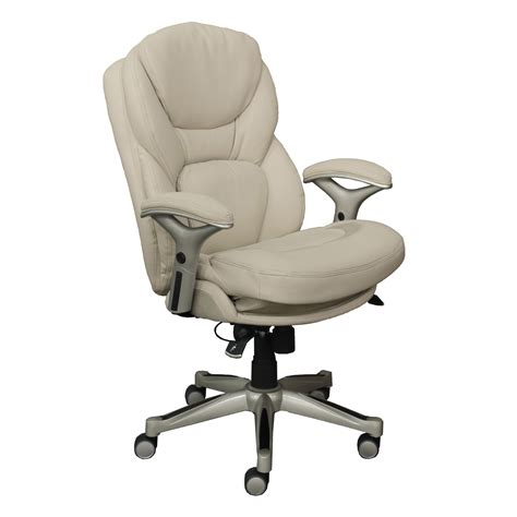 works executive leather office chair    motion technology walmartcom