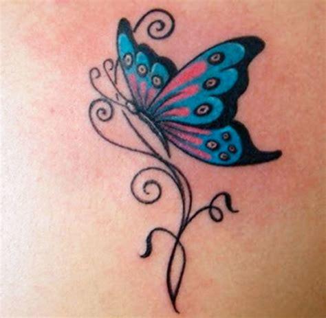 foto tatuaggi farfalle e fiori tatuaggi farfalle 200 foto e idee a cui ispirarsi