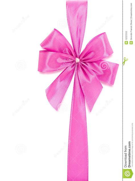Pink Ribbon And Ribbon pink ribbon and bow stock photography image 13727212