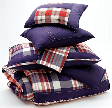 plaid twin bedding milam plaid twin comforter q353001t ashley furniture