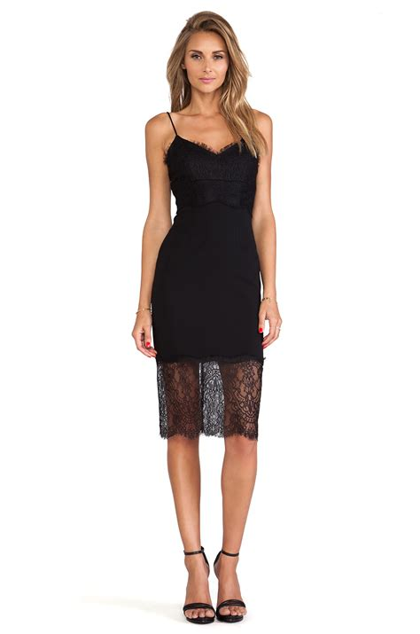 Dress Of The Day Silk Cami Dress by Nicholas Lace Silk Cami Dress In Black Lyst
