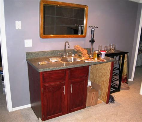 bar cabinet with sink manicinthecity