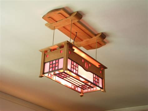 Mackintosh Ceiling Light Stained Glass Arts And Crafts Ceiling Lights Glasgow