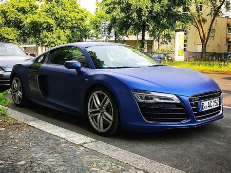 Blue Audi R8 by Audi R8 V10 Matte Blue Www Pixshark Images