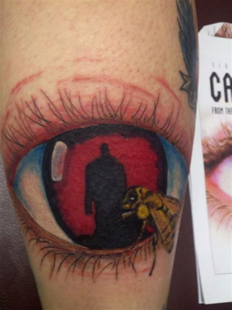 aaron tattoo candyman eye aaron beaudette tattoos