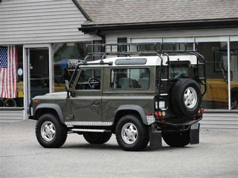 1997 land rover defender 90 cars for sale in needham massachusetts purchase used 1997 land rover defender 90 le 259 300 38k miles in needham massachusetts