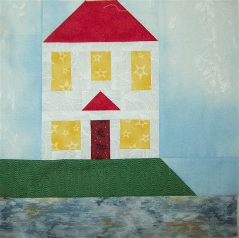 quilt pattern houses house by the bay quilt block by pamelaquilter craftsy