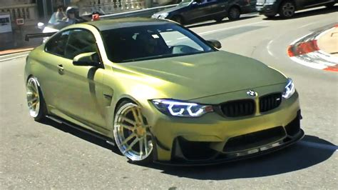 Z Performance Custom Bmw M4 Wheelspins In Monaco