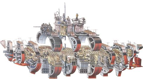 cross sectioning stephen biesty type vii u boat cutaway supersized edition