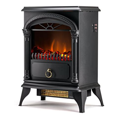 hamilton free standing electric fireplace stove 22 inch