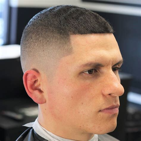 does a buzz cut look good with an oval face shape for men the modern buzz haircut