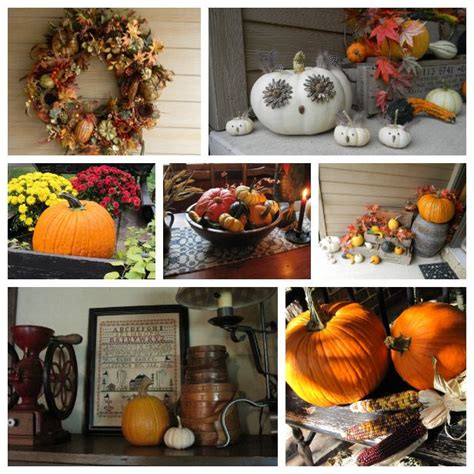17 best ideas about harvest decorations on