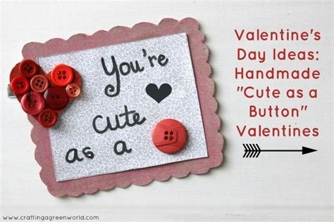 cute homemade valentine ideas crafting a green world the home for green crafts and