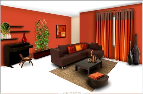 orange wall interior color basement garage modern house design nurani
