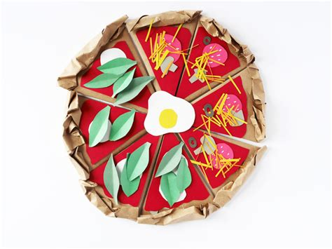 How To Make Paper Pizza - make a paper pizza